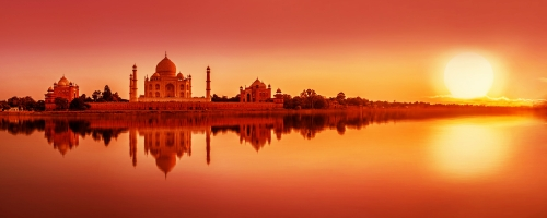 The Taj Mahal - Agricultural Safari through India