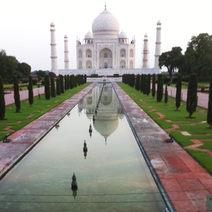 Taj Mahal first to arrive